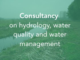 Consultancy on hydrology, water quality and water management