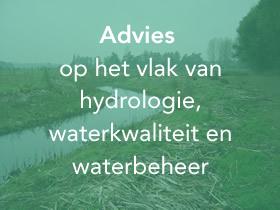 Advies op het vlak van hydrologie waterkwaliteit en waterbeheer