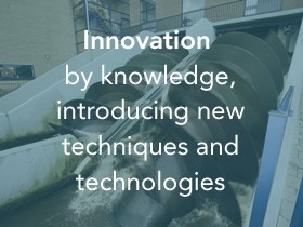 Innovation by knowledge introducing new techniques and technologies